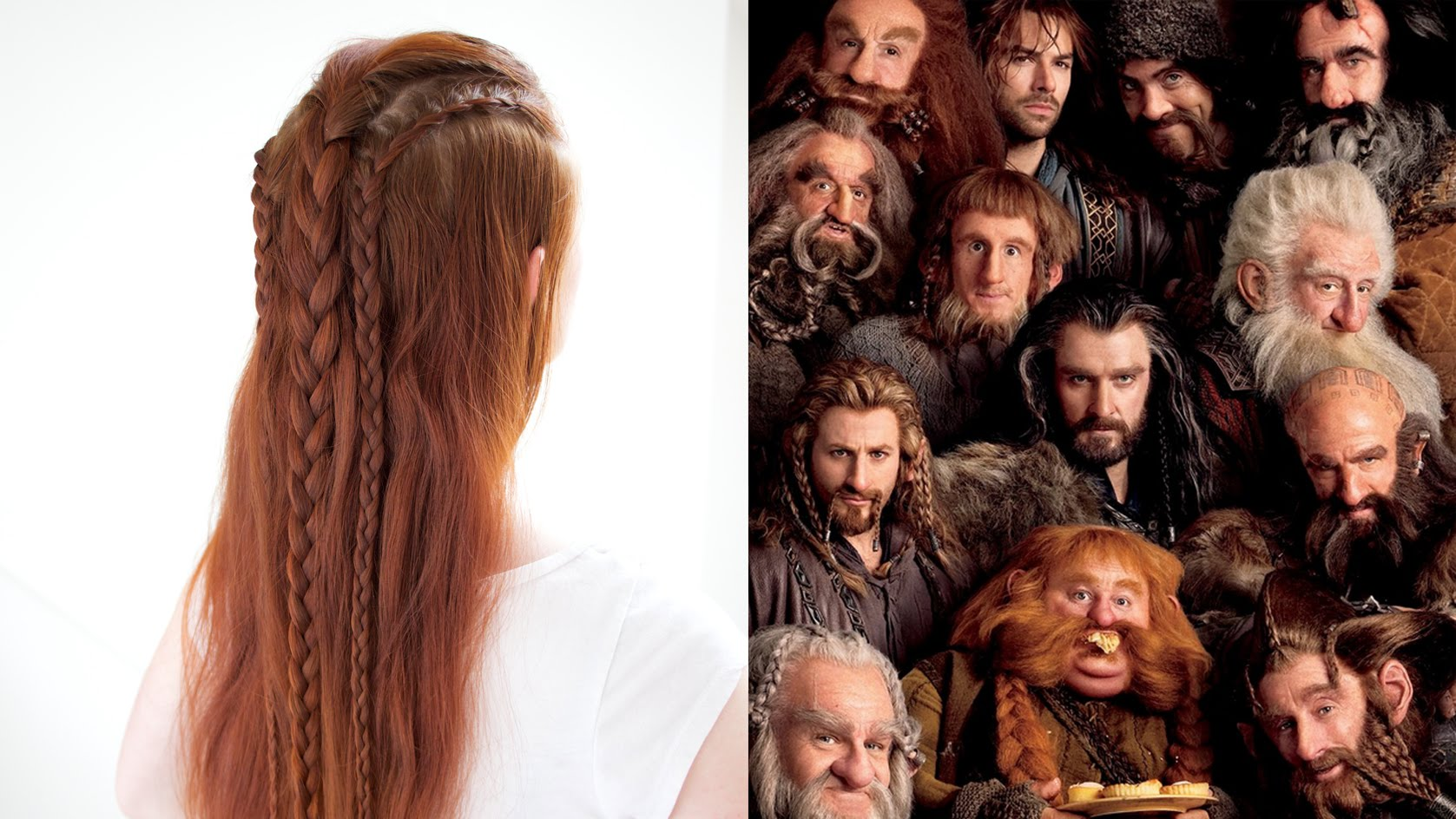 Silvousplaits Hairstyling | Hair Inspired by the Dwarves ...