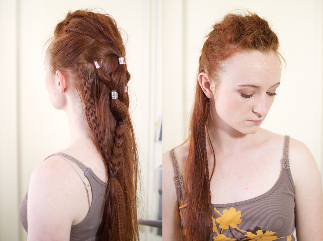 Silvousplaits Hairstyling   Lexa's Edgy Grounder Hairstyle
