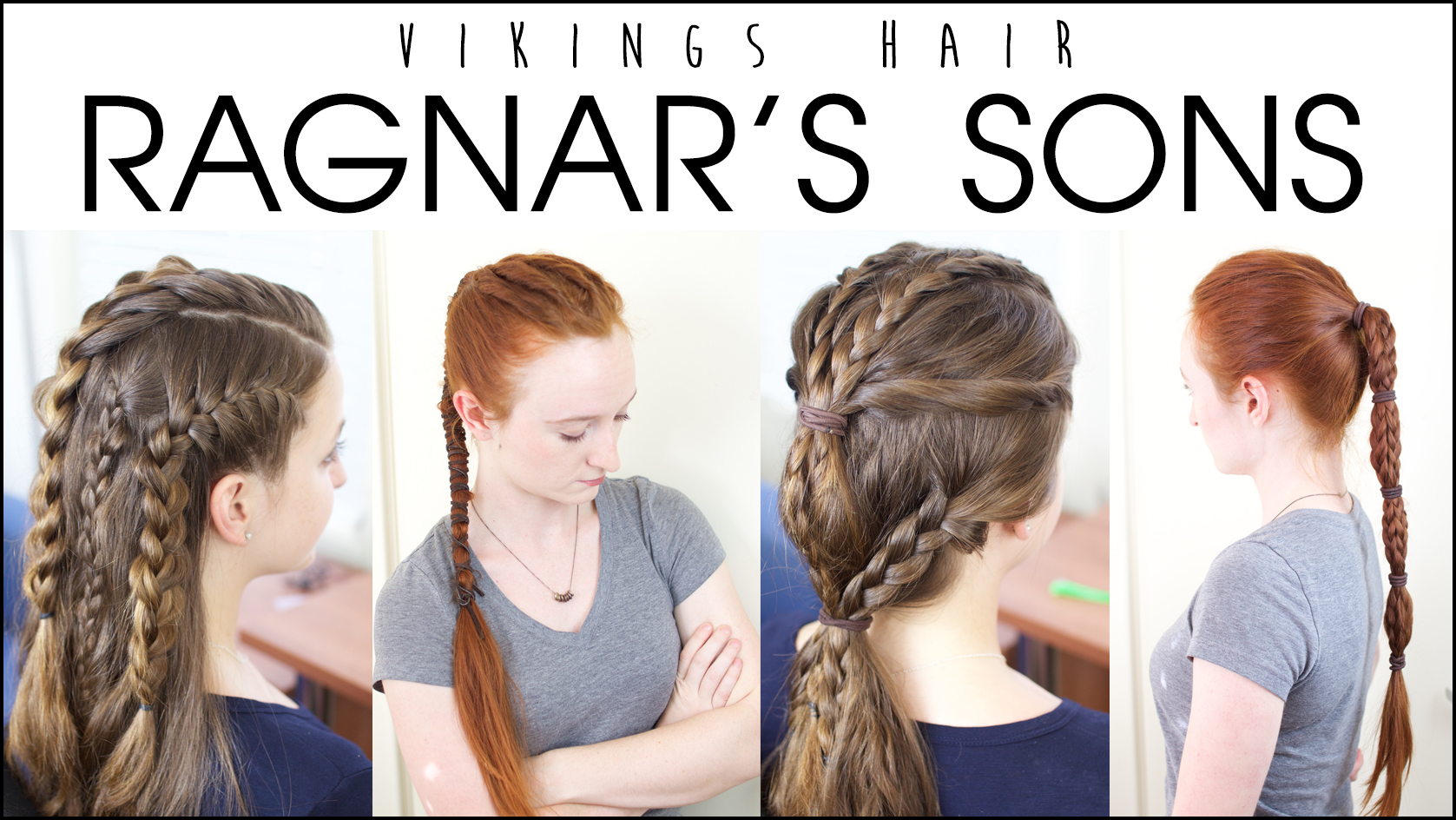 Silvousplaits Hairstyling Vikings Hairstyles Worn By