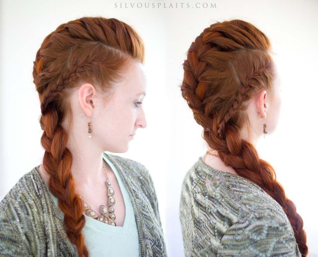 15 Wedding Hairstyles For Long Hair That Steal The Show: Lagertha's Vikings French