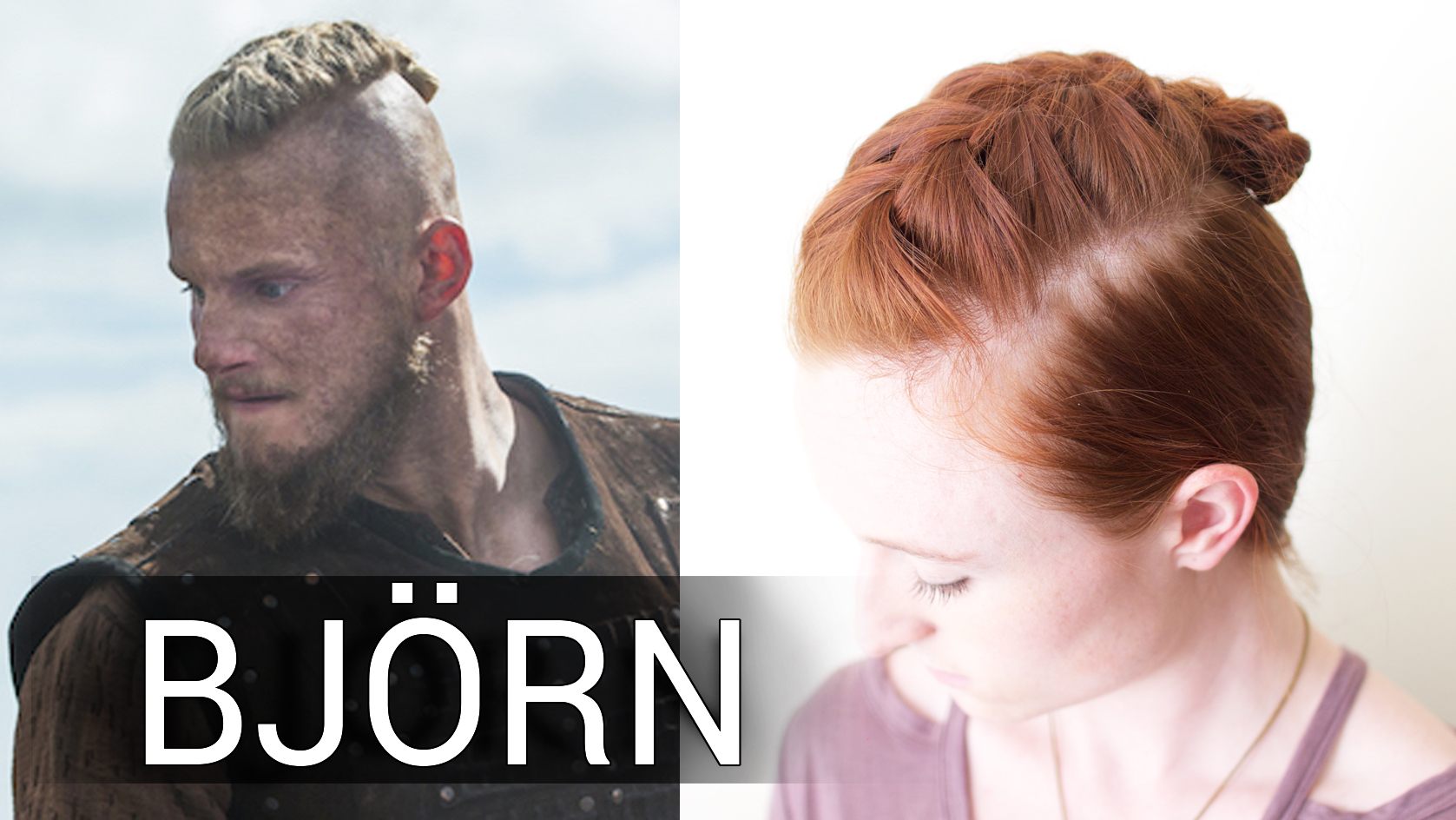 Silvousplaits Hairstyling Viking Hair Bun Tutorial For