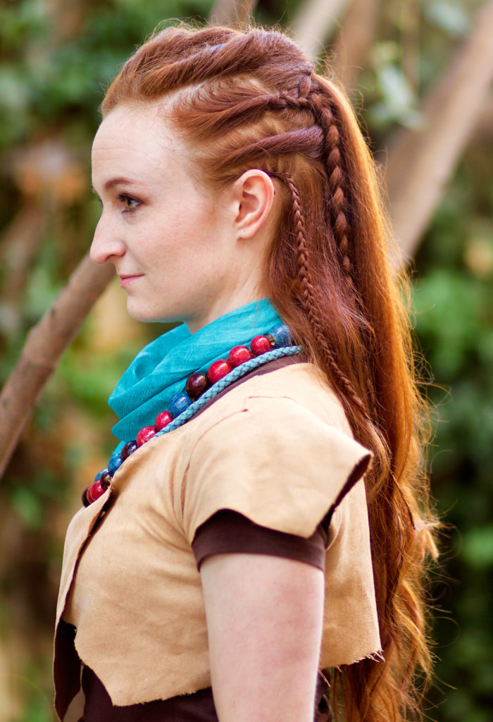 Silvousplaits Hairstyling Tutorial For Aloy Braided